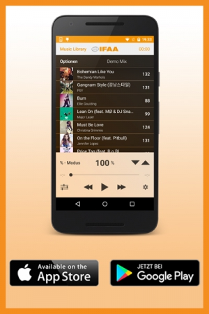 IFAA PRIME Music Player App - Android + iOS